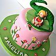 Dinosaur and Fairy Cake