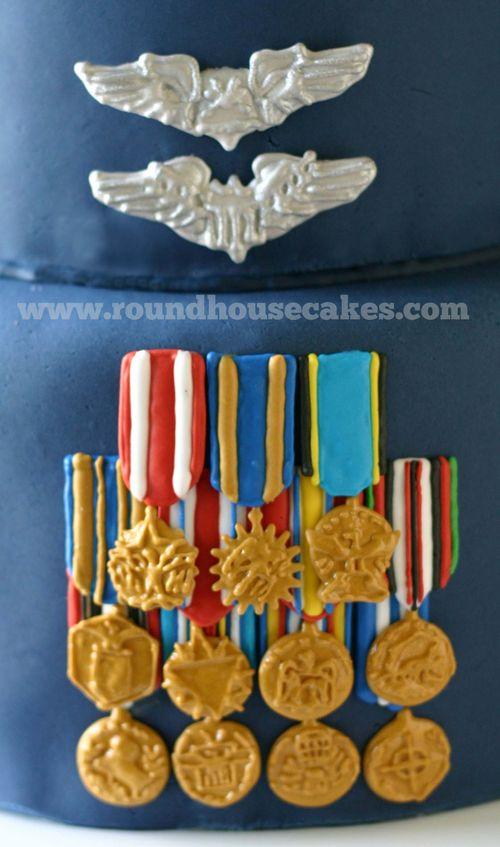 Groom medals