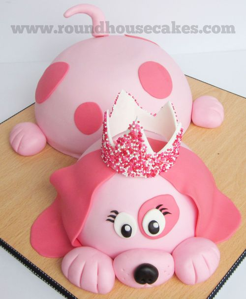 Birthday MONTH She Requested A Pink Dog Cake To Have At Her Friend Party We Searched Around On Google For While And Settled Basic Design Using