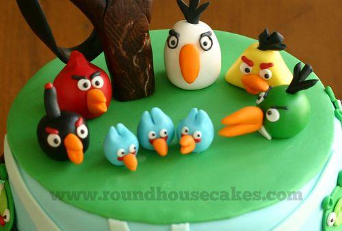 Cake birds