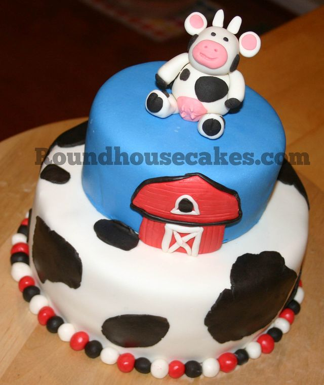 Cake Gallery Cow Cake