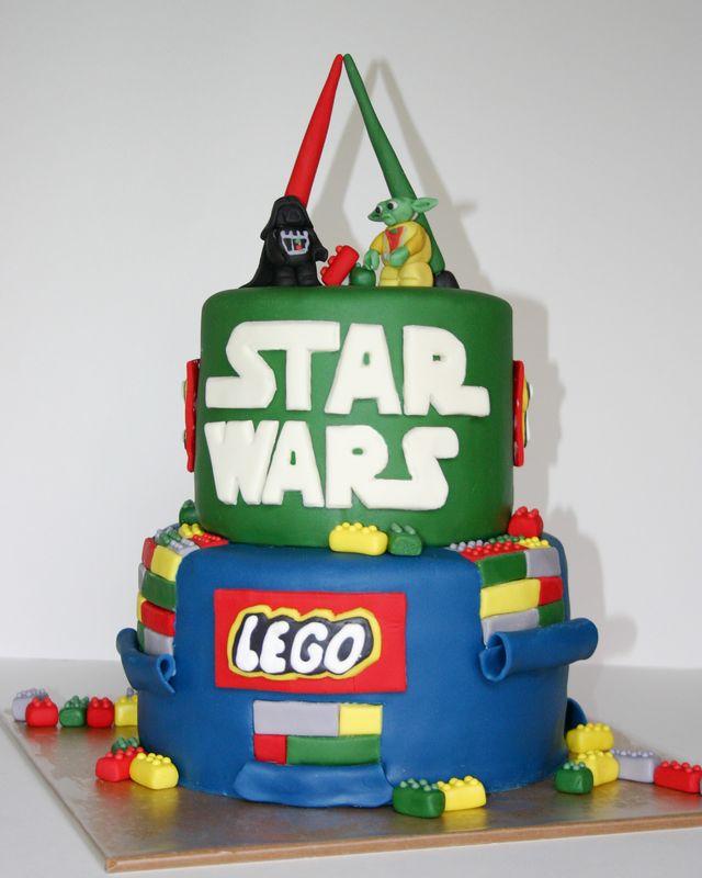 Cake Gallery Star Wars Lego Cake